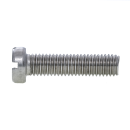 Cheese Head Slotted Screw, DIN 84
